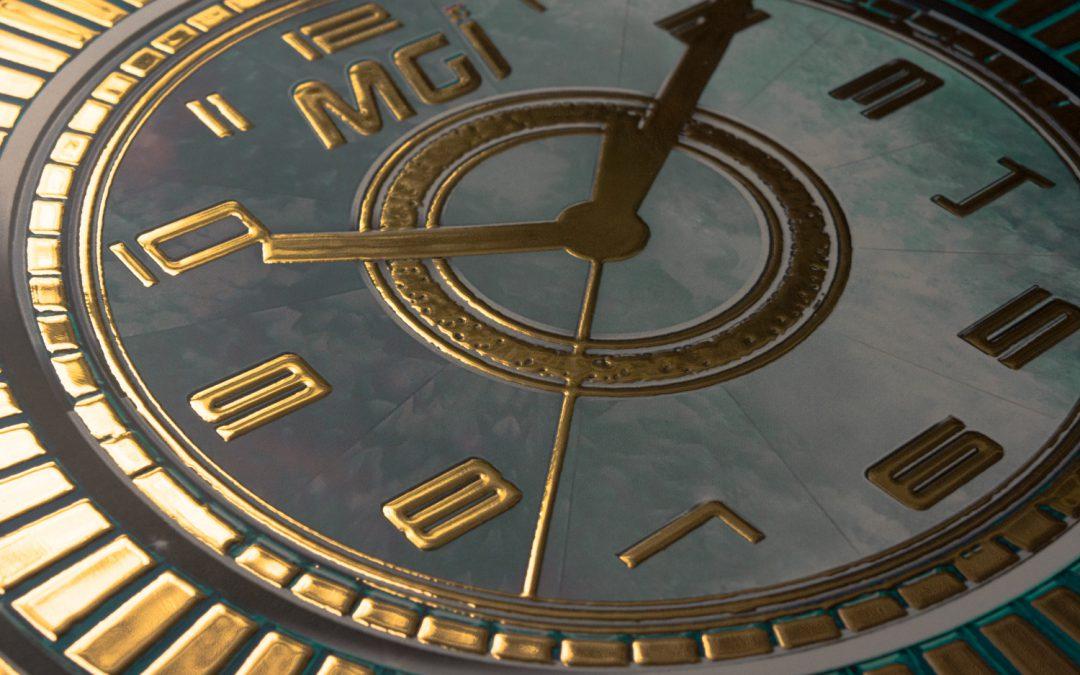 Reklama zegarka